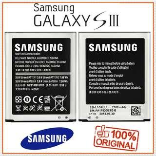 Galaxy S3 100% Ori Samsung Galaxy S3 Battery 2100mAh
