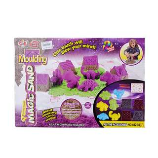 Magic Sand Play set with Dinosaur & Castle Mould 1000kg