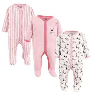BN Luvable friends baby sleepsuit