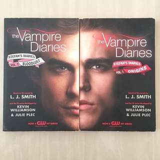 The Vampire Diaries (Vol 1 & 2)