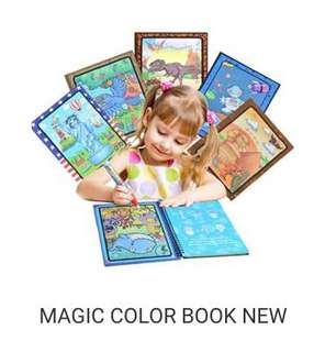 MAGIC COLOR BOOK
