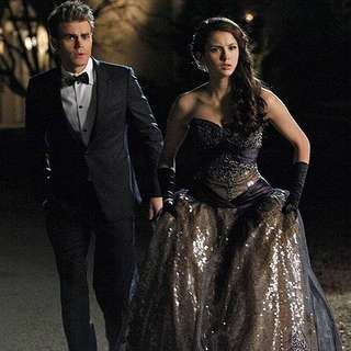 Elena Gilbert TVD peg formal dress