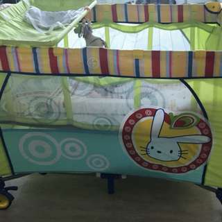 foldable bed,baby cot
