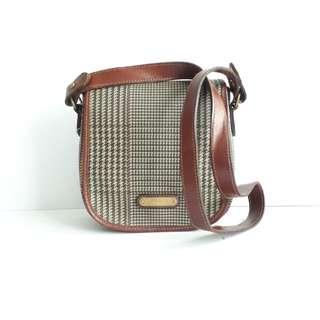 Vintage Polo RL leather crossbody bag