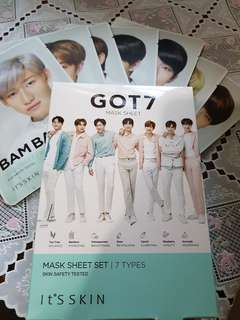 GOT7 Its skin full set mask