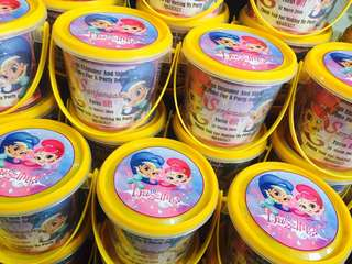 Shimmer & Shine Themed Goodie Buckets