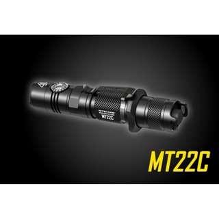Nitecore MT22C XP-L HD V6 1,000 Lumens Infinite Rotary Switch Flashlight