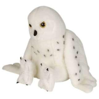 Wild Republic Cuddlekins Snowy Owl Plush Stuff Toy 30cm