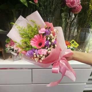 Graduation Flower Bouquet Gerbera Bouquet