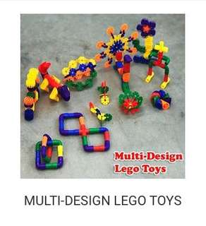 MULTI DESIGN LEGO TOYS