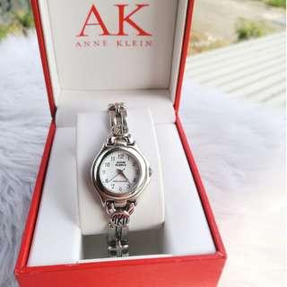 Anne Klein Silver Small Face Watch