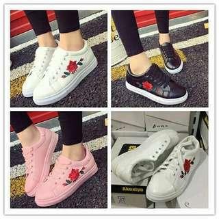Korean Flower Shoes