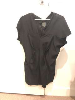 CK Calvin Klein Silk Top lose fit size M almost new