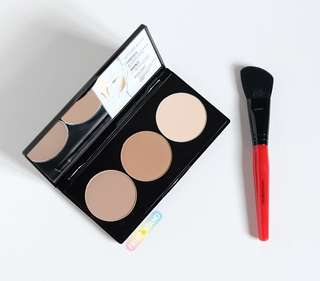Smashbox Contour Palette with Brush