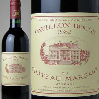 1982 Chateau Margaux pavillon rouge Red Wine 紅酒