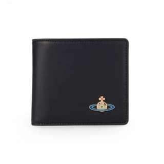 Westwood黑皮短銀包 (含散銀包) / 英國代購 / Westwood真品 / 西太后