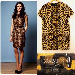 42 Giambattista leopard print dress