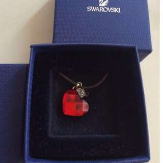 Swarovski Red Crystal Necklace