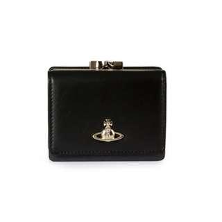 Westwood黑皮短銀包 (含散銀包&相位) / 英國代購 / Westwood真品 / 西太后
