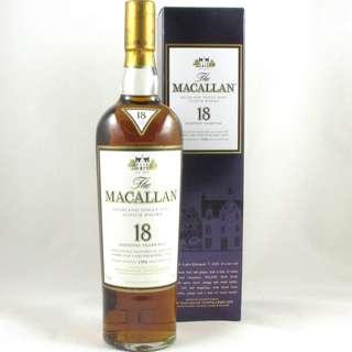 舊版 1994 Macallan 麥卡倫 18年 威士忌酒 Whisky