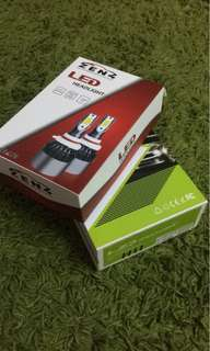 LED headlight and foglight