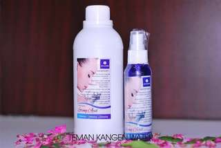Kangen water strong acid 100ml + strong acid refill 500ml