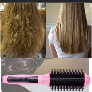 Hair Straightener comb white colour