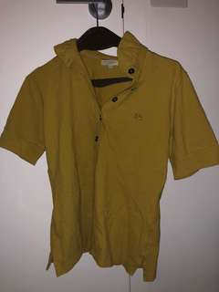 Burberry London Olive M size polo shirt