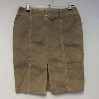 United Colors of Benetton Brown Skirt