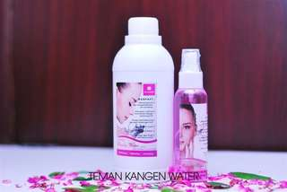 Kangen water beauty water 100ml + beauty water refill 500ml
