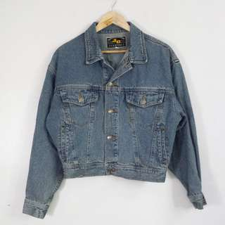 Rare Vintage Cropped Denim Jacket