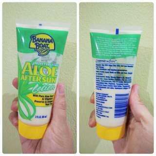 PRELOVED BANANA BOAT ALOE AFTER SUN LOTION (PRELOVED) 88ML ORIGINAL