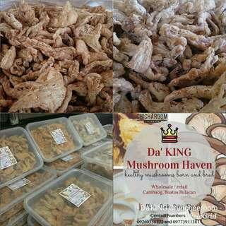 🍄AFFORDABLE🍄 Da KING Mushroom Chicharon ( CHICHAROOMS )