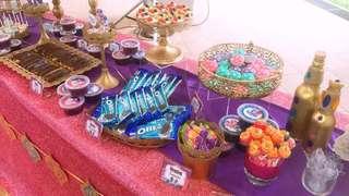 Shimmer & Shine Themed Candy Corner
