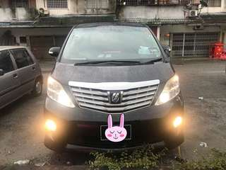 TOYOTA ALPHARD 2.4 PRIME SELECTION II TYPE GOLD