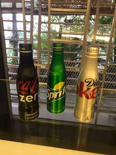 Cola/sprite bottles