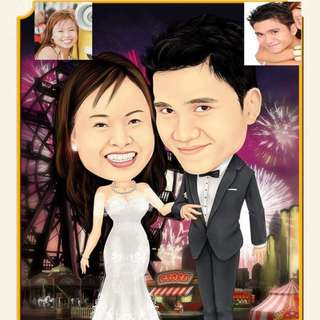 Caricature ( Wedding Picture)