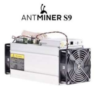 Antminer s9 13.5 TH/s With PSU Ready STock