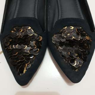 Flat Shoes (navy)
