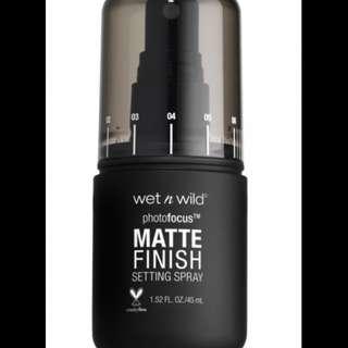 [ORI] Wet n Wild Photo Focus Matte Finish Setting Spray - Matte Appeal