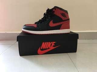 """Nike Air Jordan 1 Retro High OG """"BRED"""" 2013"""
