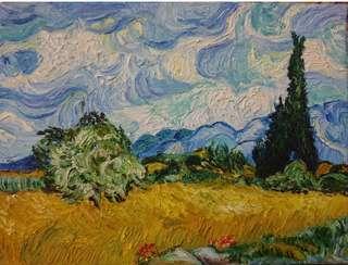 油畫 oil painting