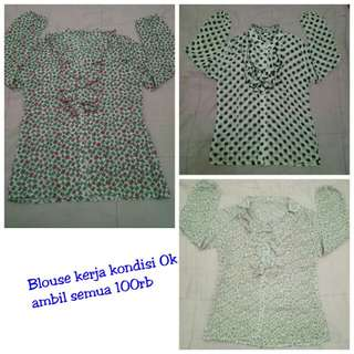 blouse harian