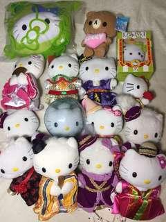 🚚 Hollo kitty14隻+抱枕 全部售