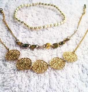 Forever 21 Bohemian Bracelet Set