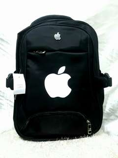 APPLE BACKPACK WITH USB CHARGING PORT AND HEADSET CONNECTOR