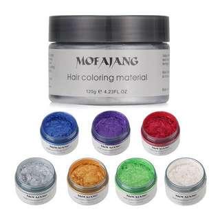 Mofajang colour hair wax