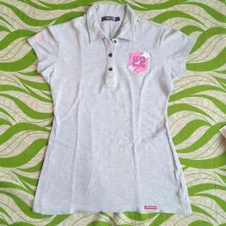 Dickies Gray Polo Shirt