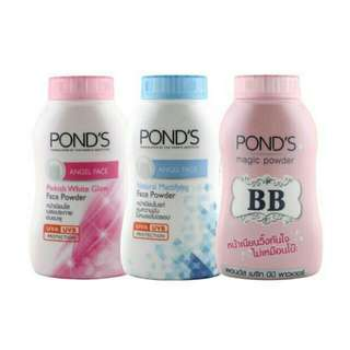 Ponds BB Magic Powder/ Ponds Pinkish Angel Face/ Ponds Blue Angel Face