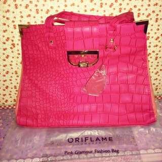 Tas pink glamour oriflame